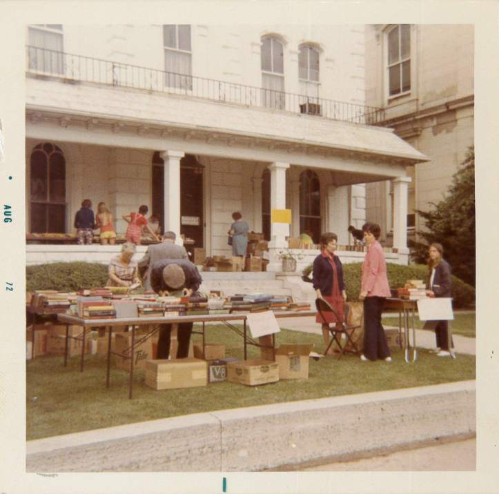 Book Sale August 1972
