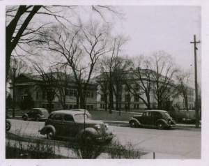 Cars Library 1940s black and white