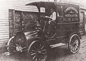 Christ Wagner Pretzel Bakery truck Garst Museum