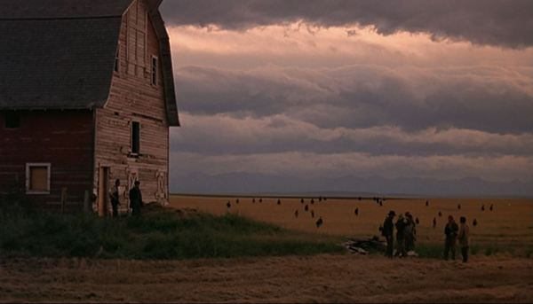 Days of Heaven barn field