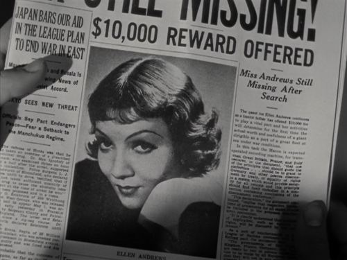 It Happened One Night newspaper 2
