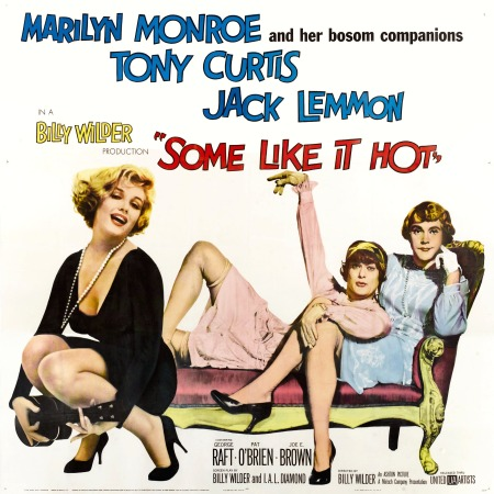 Some Like It Hot movie poster large 3